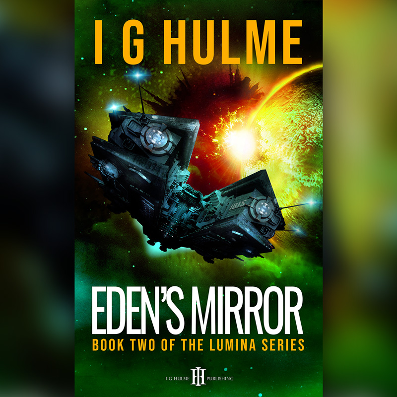 Edens Mirror by I G Hulme - book cover