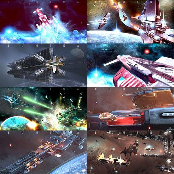 Spacecraft scenes