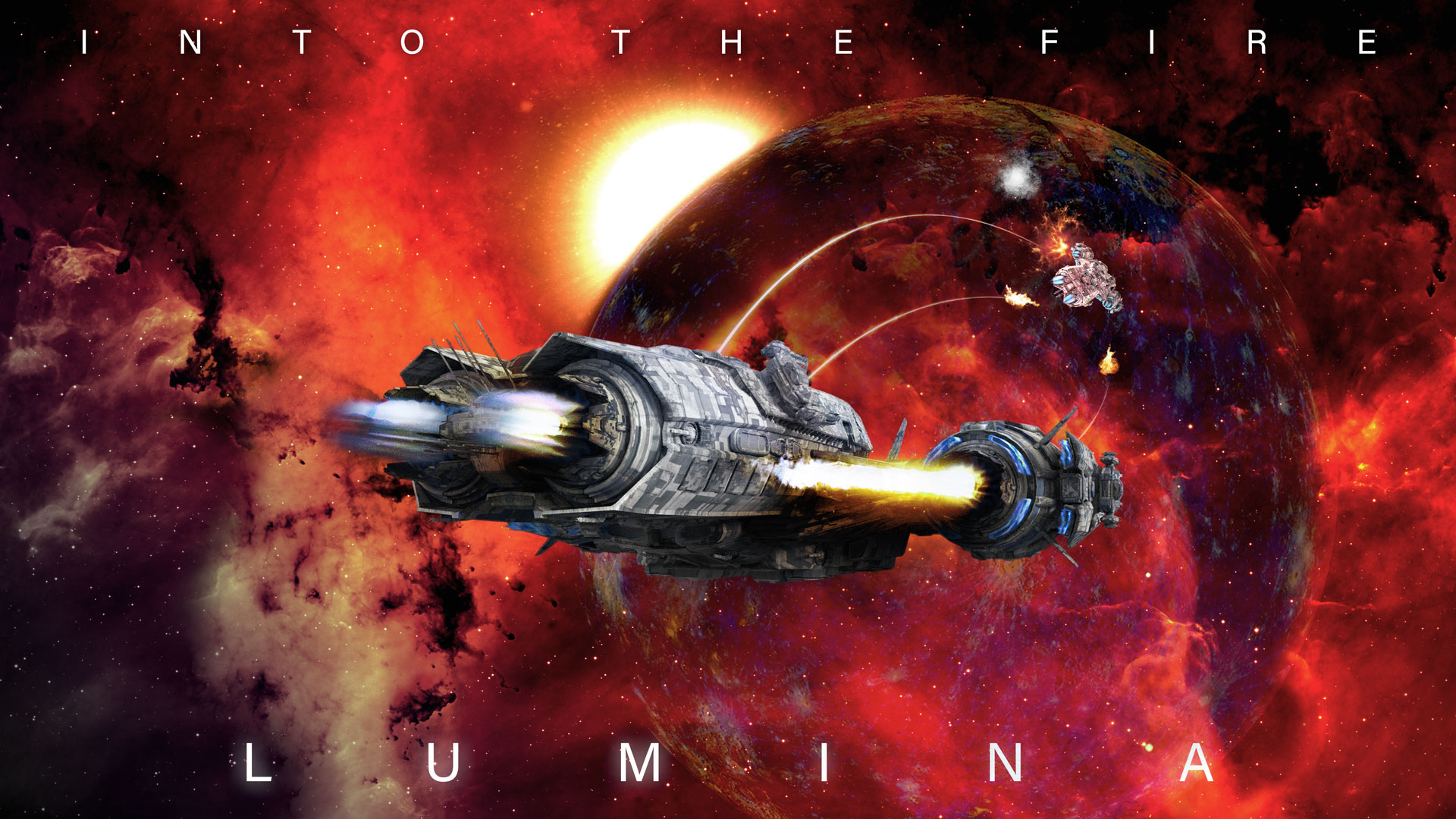 Into the Fire  - the first book in the Lumina series by I.G. Hulme