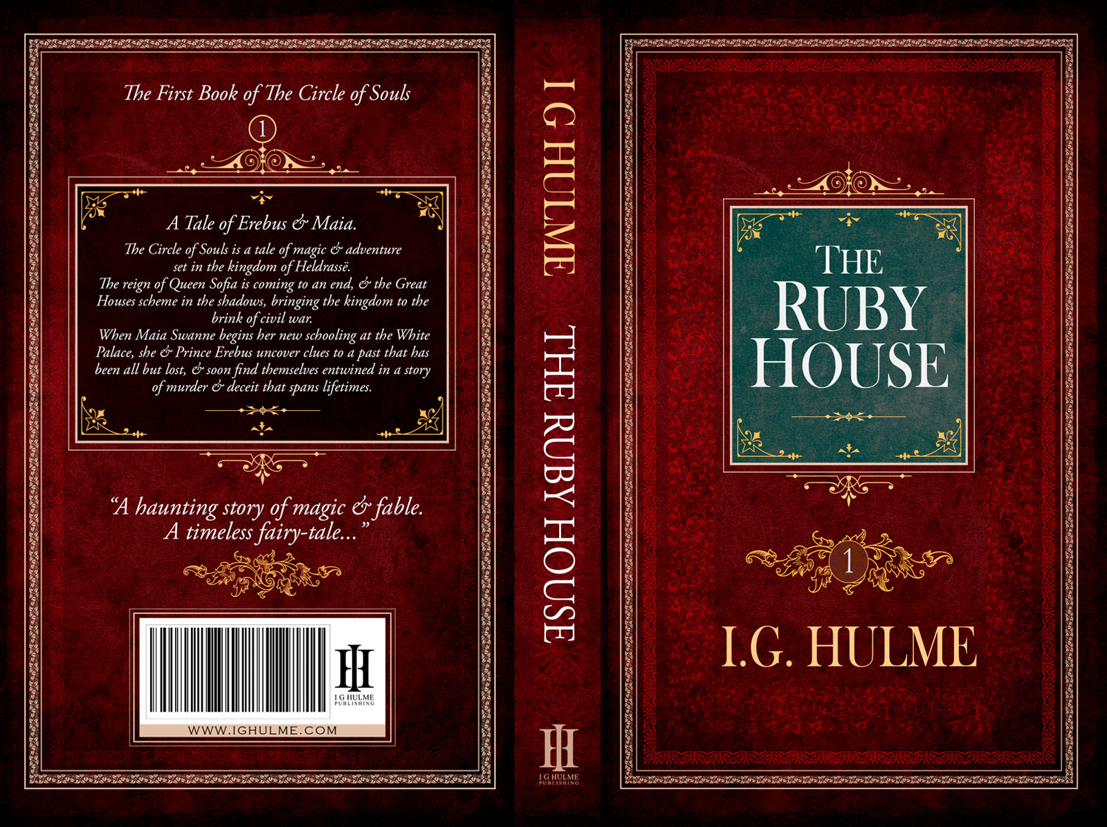 The Ruby House - The first book in the Circle of Souls series by I.G. Hulme