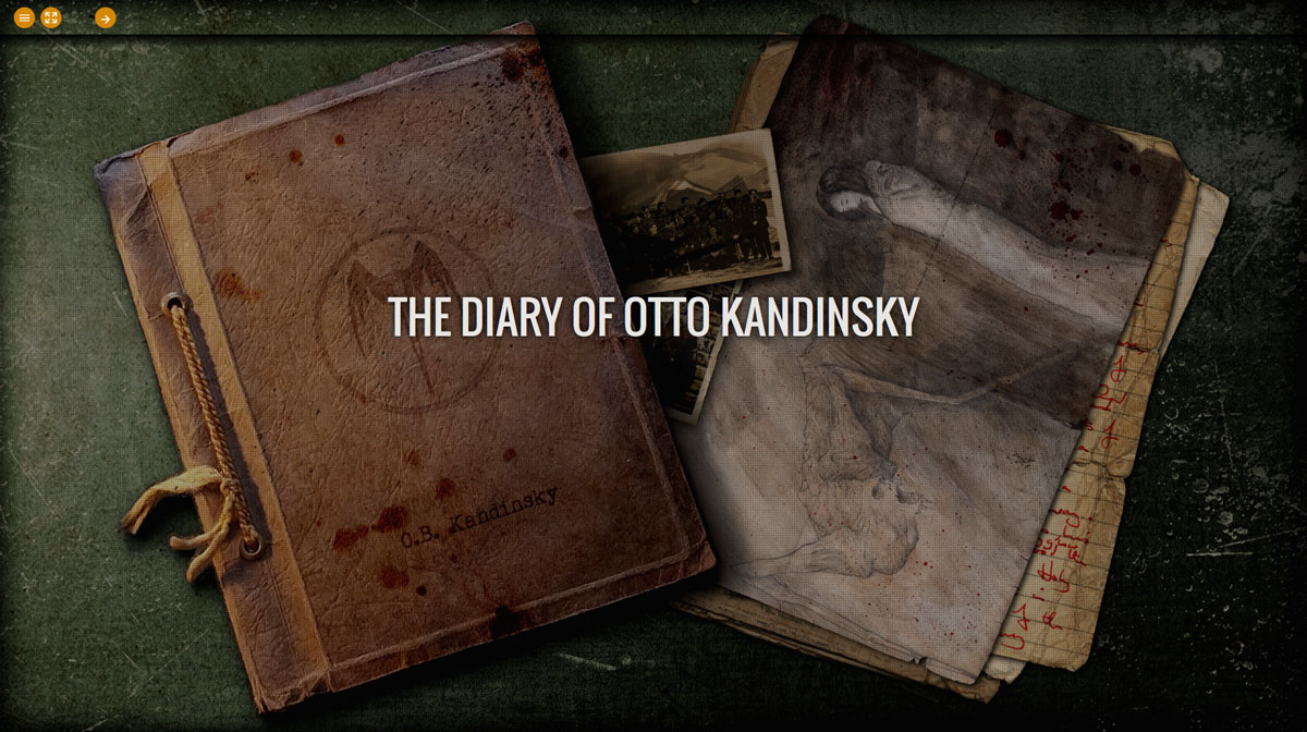 The Diary of Otto Kandinsky