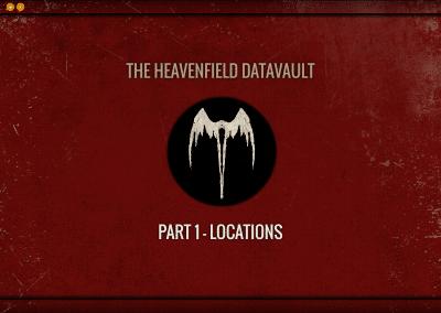 Heavenfield Datavault Locations