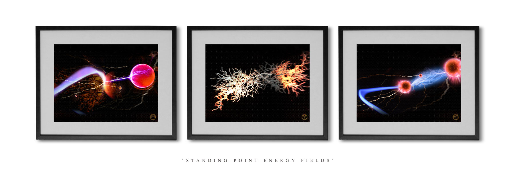 Print-Set--Standing-Point-Energy-Fields