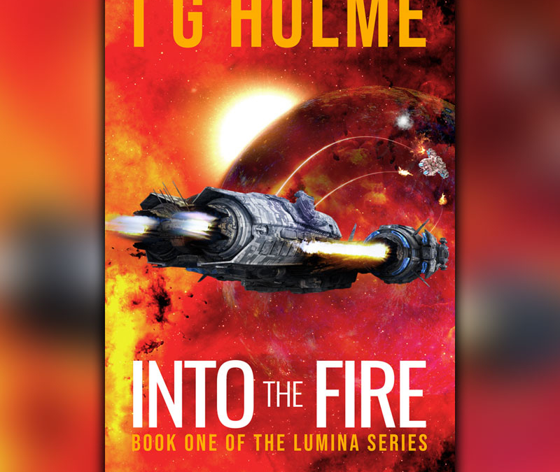 INTO THE FIRE – Pre-Order date moved forward to Christmas Day!