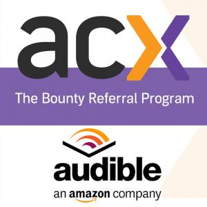 ACX Audible Amazon Bounty Referral Logo