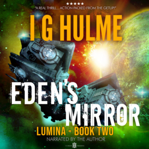 Eden's Mirror by I G Hulme - audiobook cover